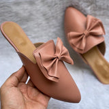Buy Now Fashion Bow Mules For Women Party Wear And Casual Wear- JackMarc