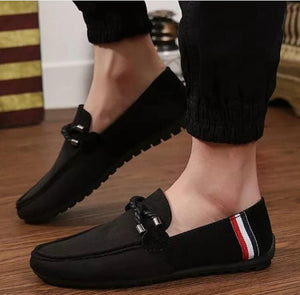 Stylish Men Suede Shoes Fashion Business And Partywear Loafer -JACKMARC
