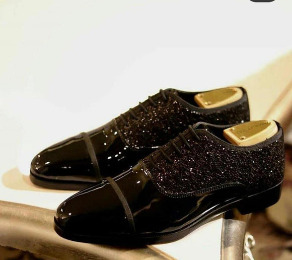 Buy Now Stylish Shimmer Patent Shoes For Party and Wedding Occasion - JackMarc