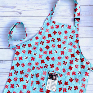 NEW Little Helper Apron by Corrine's Crafts - Pinwheels