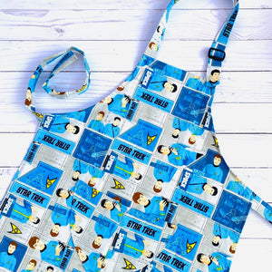 NEW Little Helper Apron by Corrine's Crafts - Star Trek