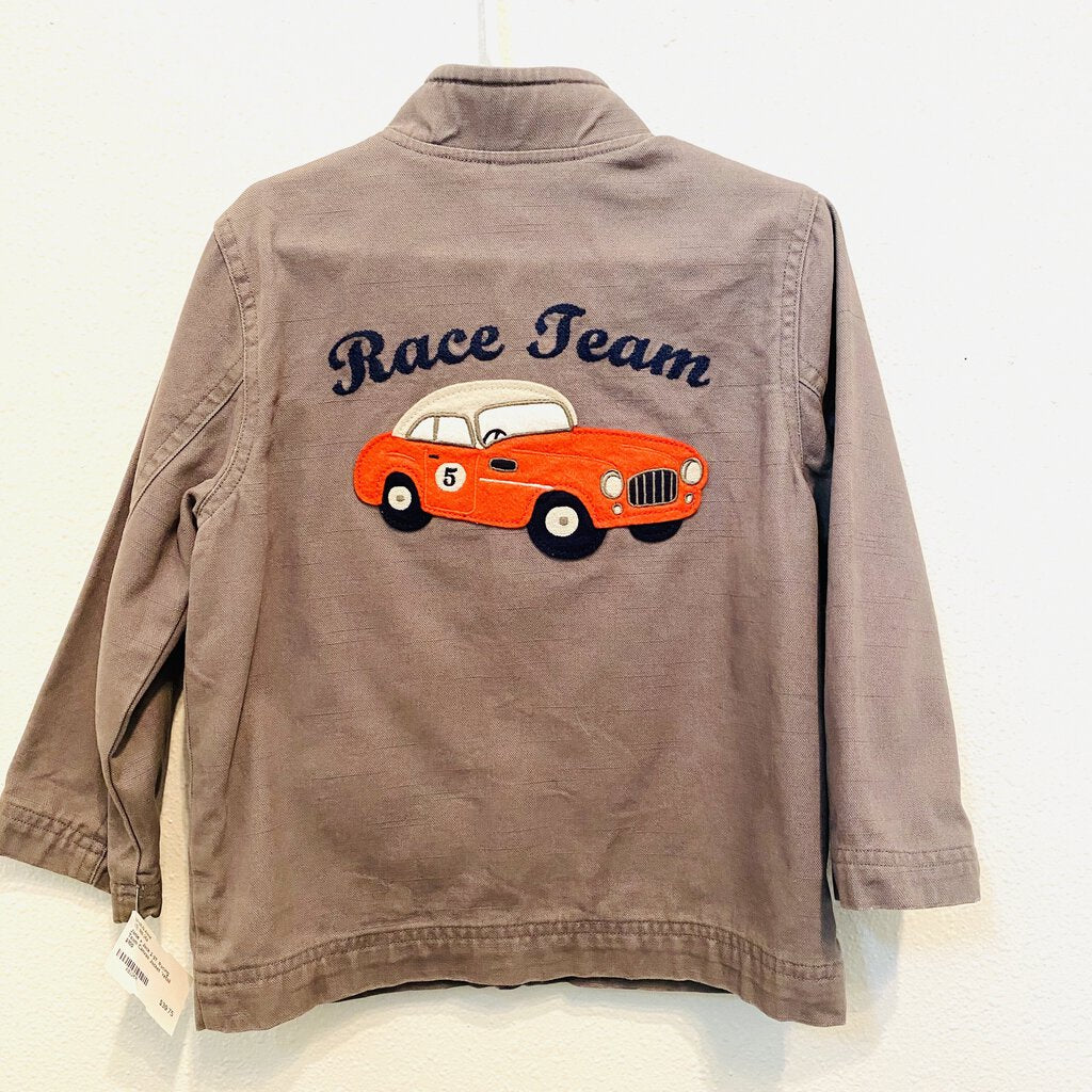 2-3T: Racing Team Canvas Jacket *retail $100