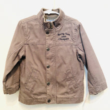 Load image into Gallery viewer, 2-3T: Racing Team Canvas Jacket *retail $100