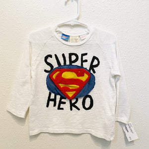 12-18M: NWT Super Hero L/S Top