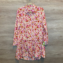 Load image into Gallery viewer, M: NWT Silky L/S Floral Print Dress