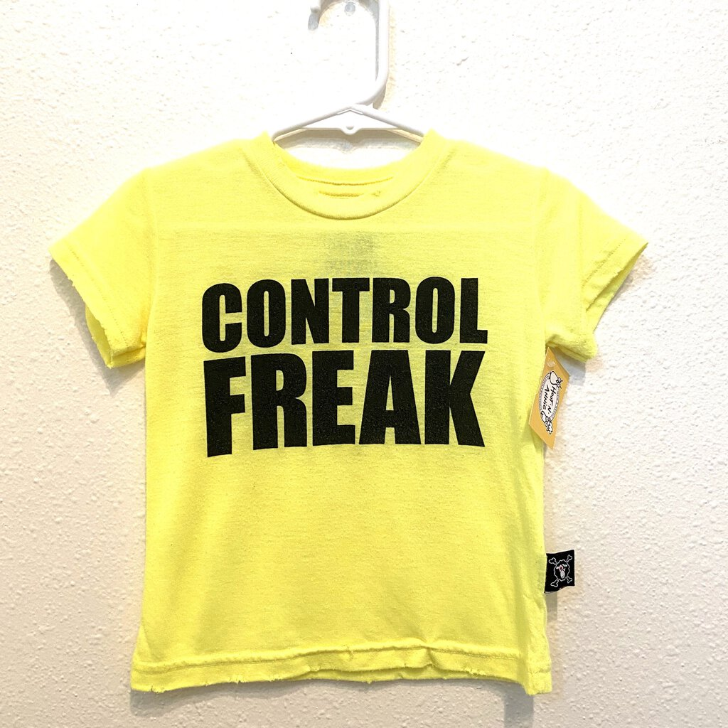 12-18M: Neon Control Freak Tee *reduced