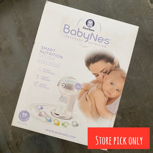 NEW Gerber BabyNes Advanced Nutrition System