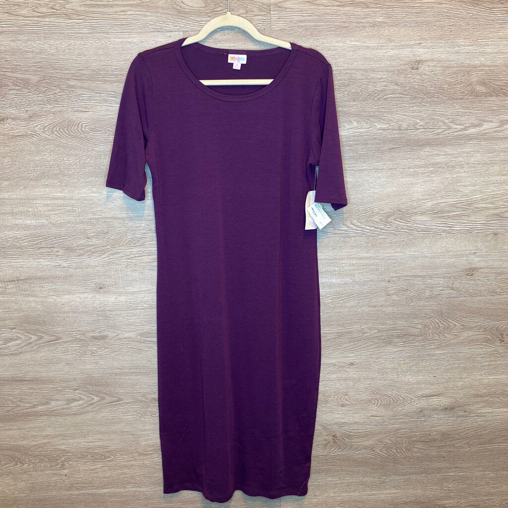 M: NWT Purple Tee Dress