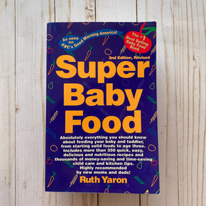 Used Book- Super Baby Food