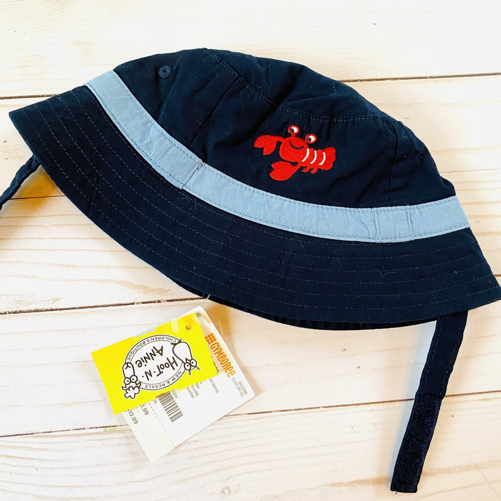 12-18M: NWT Navy Crab Sun Hat