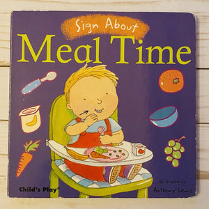 Used Book - Sign About Meal Time