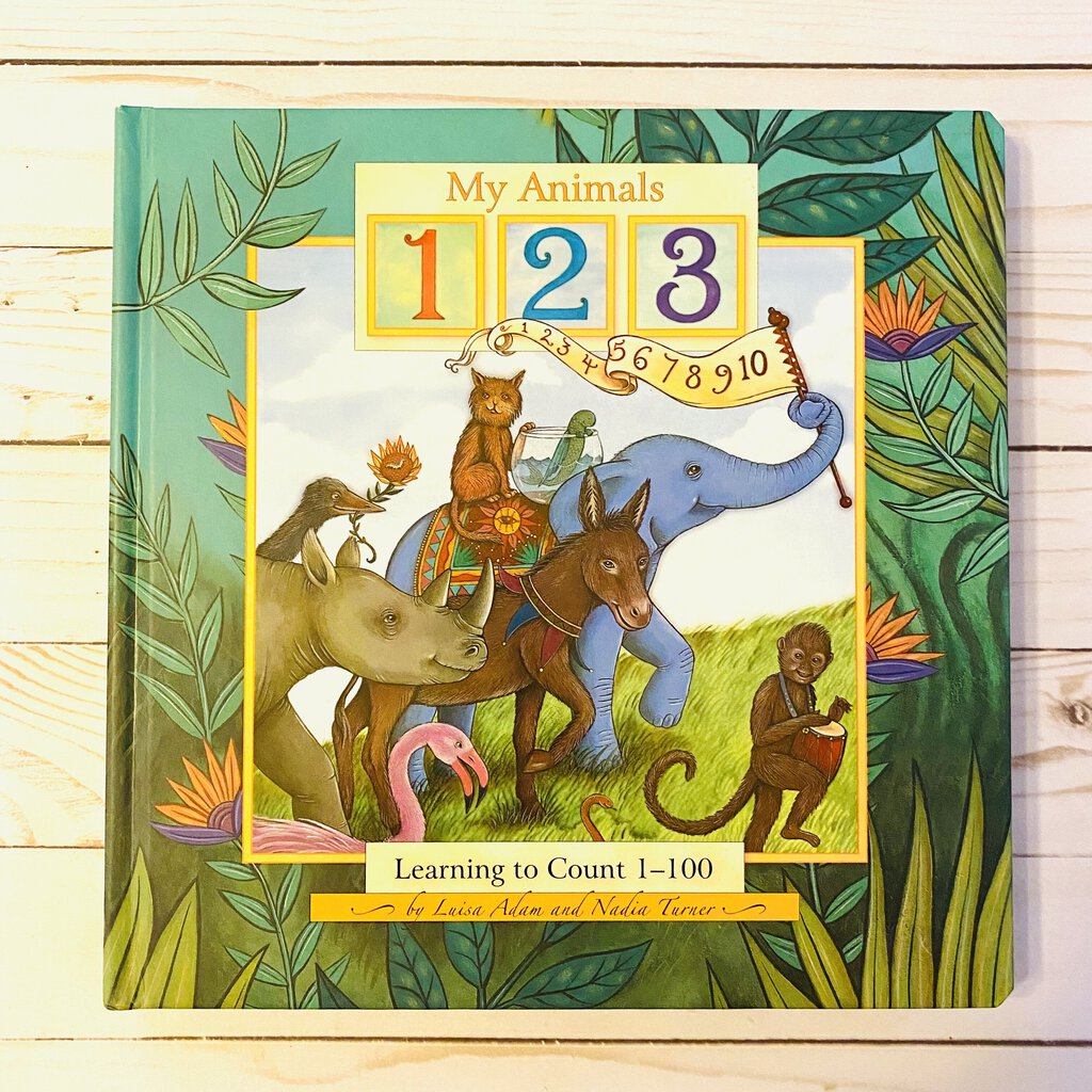 Used Book - My Animals 1 2 3