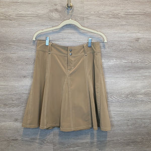 Size 2: Tan Flare Skirt