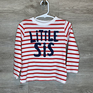 2: Red Striped Little Sis L/S Top