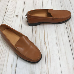 Size 6.5: Camel Leather Loafers *retails ~$600