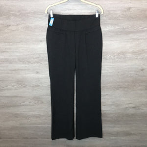 Size 4: Charcoal Demi Panel Formal Pants