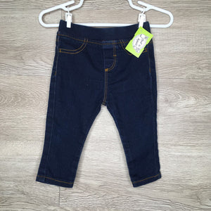 3-6M: Stretch Dark Wash Jeggings