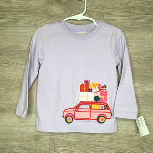 90/3: Lilac Car Patch L/S Tee