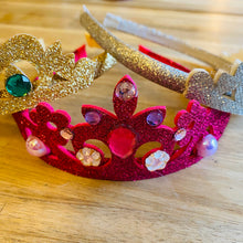 Load image into Gallery viewer, Tutu Cute Felt Glitter Crown