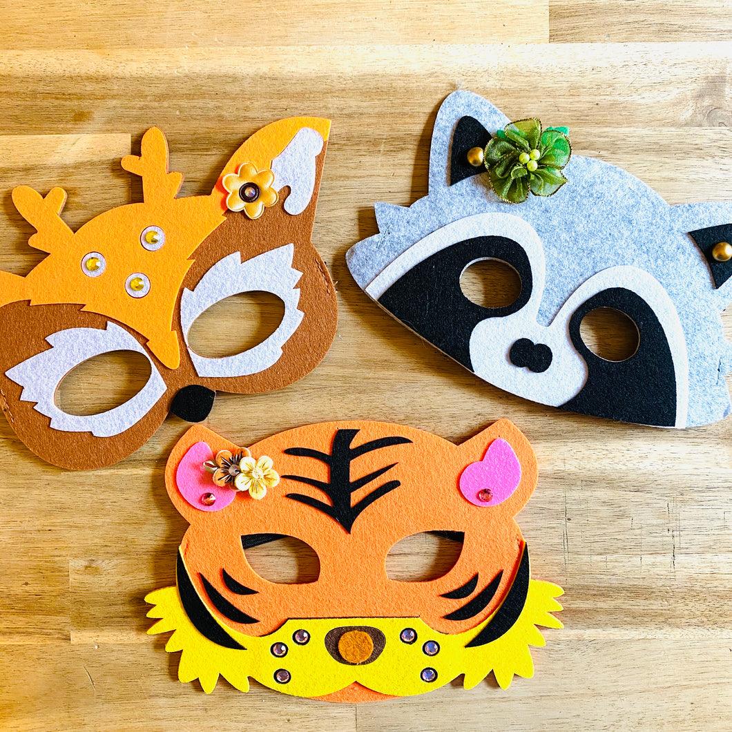 Tutu Cute Jeweled Animal Mask
