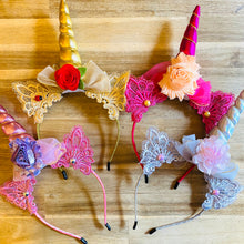 Load image into Gallery viewer, Tutu Cute Unicorn Headbands