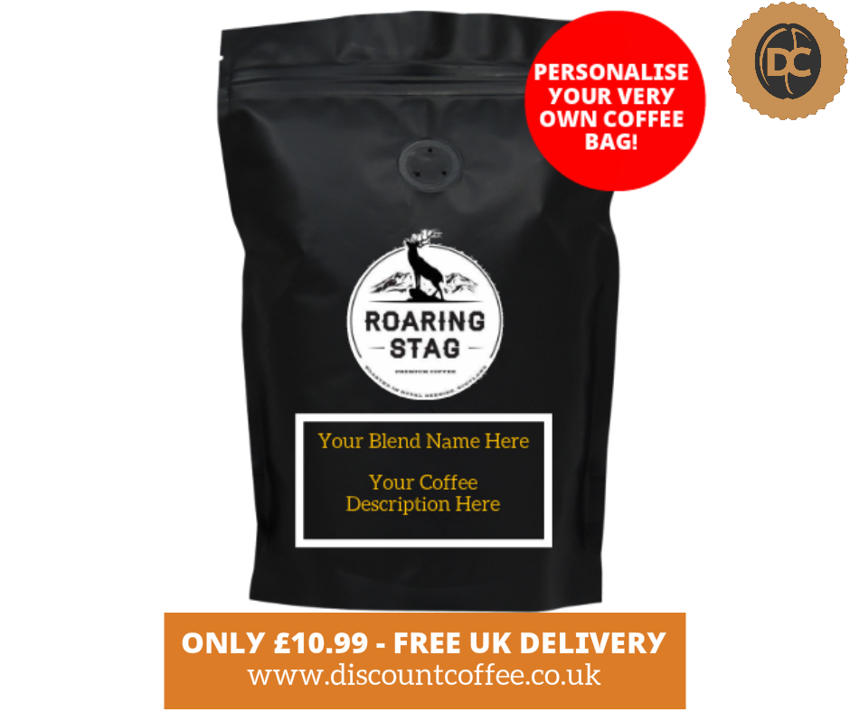 Personalise Your Very Own Coffee Bag! (Roaring Stag Custom Coffee)