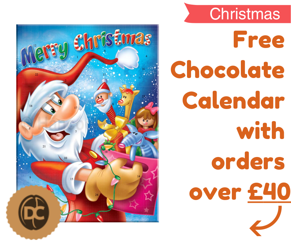 Free Chocolate Calendar with orders over £40!