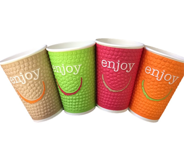 New Product! Enjoy Bubble Paper Hot Cups