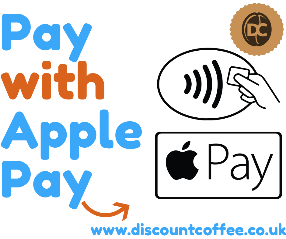New! Pay with Apple Pay