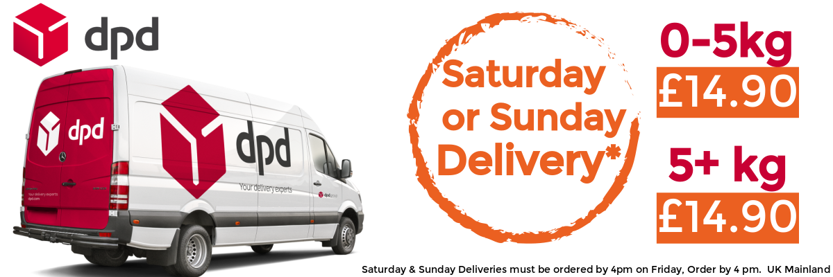 DPD Saturday or Sunday Delivery | Discount Coffee