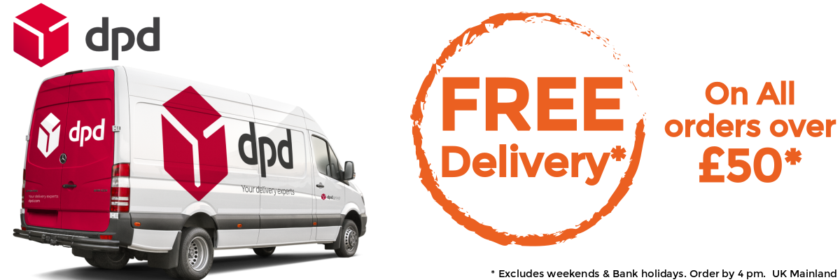 DPD Free Delivery Over £50 | Discount Coffee