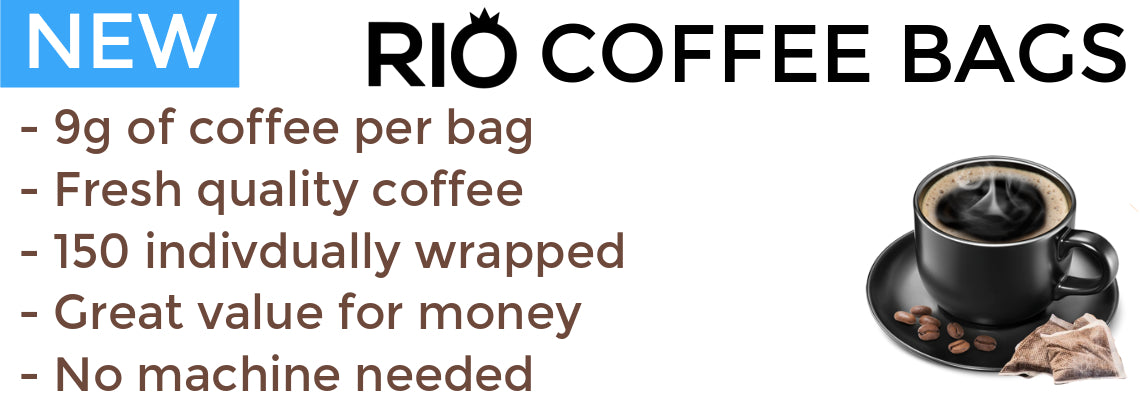 New Rio Coffee Bags | Discount Coffee