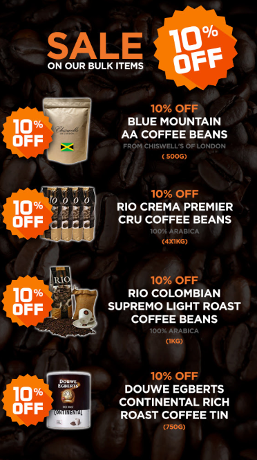 Black Friday Sale | Discount Coffee