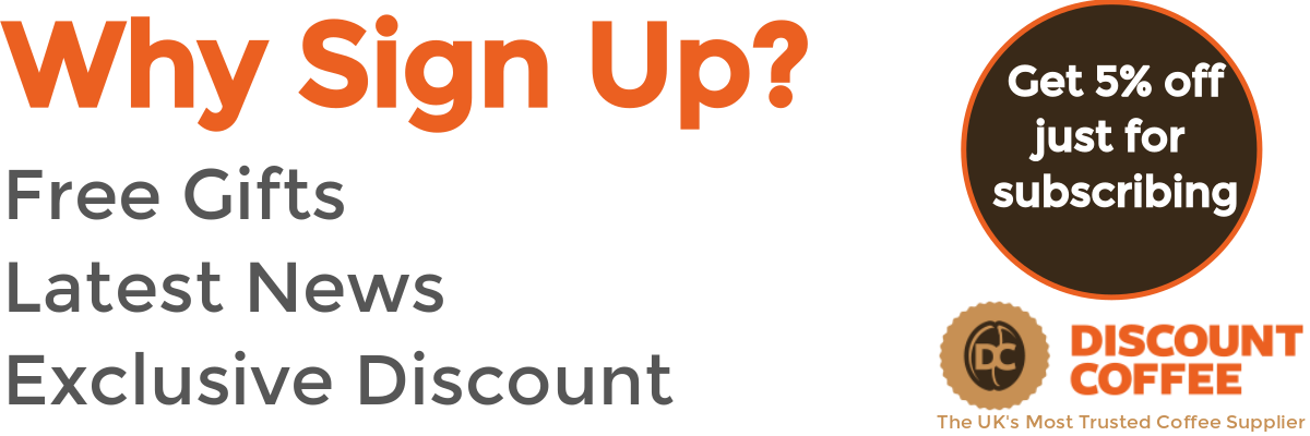 Why sign up? | Discount Coffee