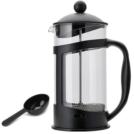 Sainsburys Home Black Glass Cafetiere - 12 Cup | Discount Coffee
