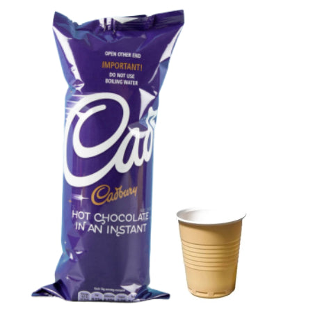 Cadbury Instant Hot Chocolate (7 cups) | Discount Coffee