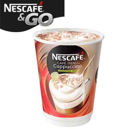 Nescafe And Go Cappuccino Pack (8)