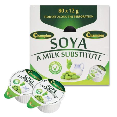 Champion Soya Milk Pots, Portions, Pods, Capsules | Discount Coffee