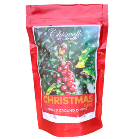 Chiswells Christmas Blend Ground Coffee - 100% Arabica (250g) | Discount Coffee