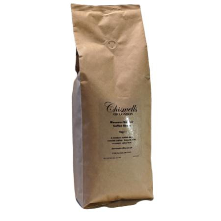 Monsoon Malabar Coffee Beans- from Chiswells of London (1kg) | Discount Coffee