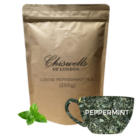 Chiswell's Peppermint Loose Tea 250g | Discount Coffee