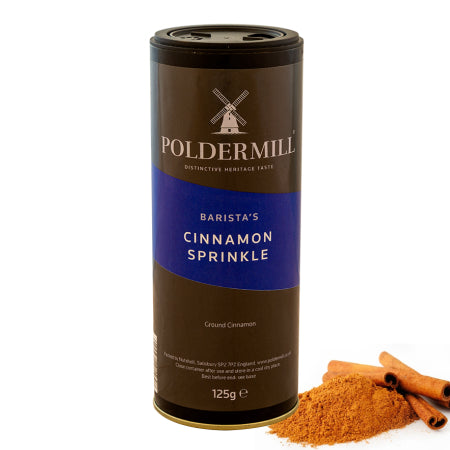 Cinnamon Shaker/Sprinkler Drum (125g) Poldermil | Discount Coffee