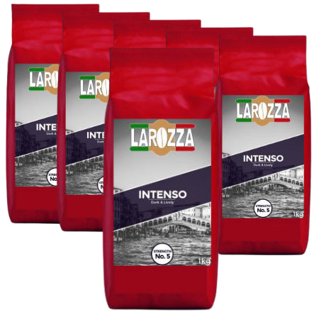 Larozza Intenso Italian Coffee Beans (6 x 1kg) | Discount Coffee
