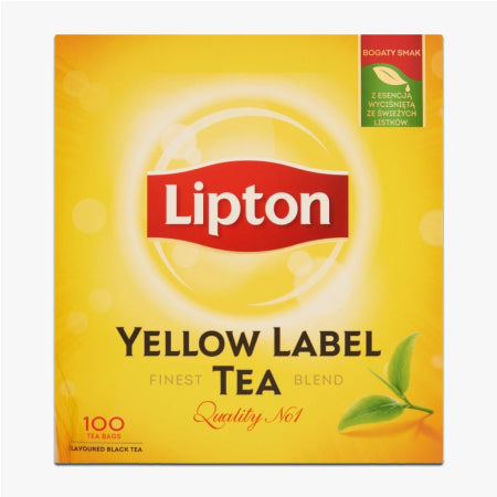 Liptons Yellow Label Tea Bags (100) | Discount Coffee