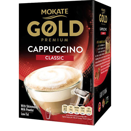 Mokate Gold Instant Cappuccino Sachets (8)