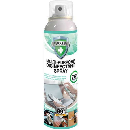 Viraclen Multi-Purpose Disinfectant Spray (200ml) | Discount Coffee
