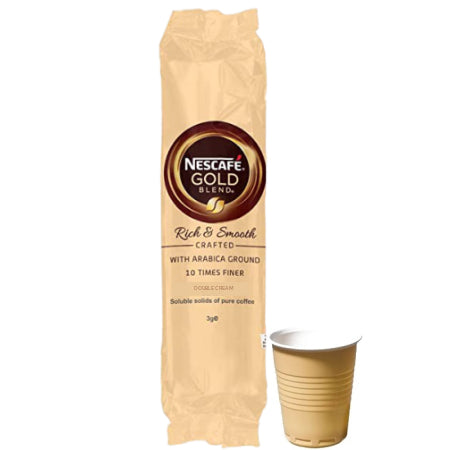 Nescafe Gold Blend 73mm Incup Double Cream (25 Cups) | Discount Coffee