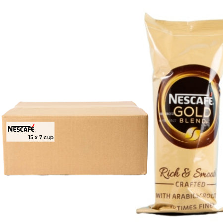 Nescafe Gold Blend - Bulk Buy (15 x 7 Cups)