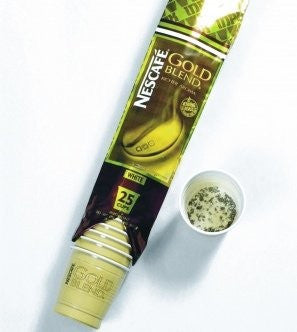 Nescafe Gold Blend 73mm Incup Double Cream (25 Cups)