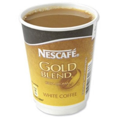 Nescafe And Go Gold Blend White Coffee Pack (8) - DiscountCoffee